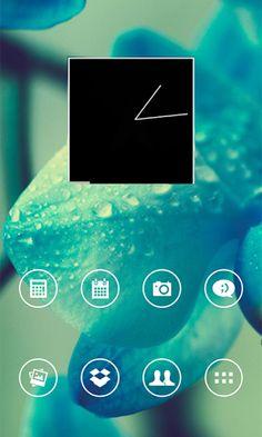 Round White Theme Go/Nova/Apex v2.6  Requirements: Android 2.0+  Overview: Round White Theme Go/Nova/Apex