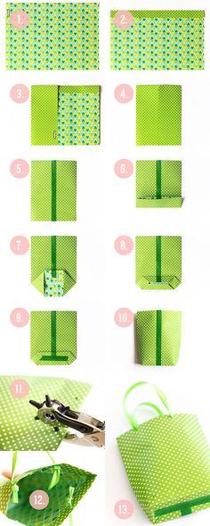 MarysJa - rzeczy nieZwykłe: pakowanie prezentów - lekcja 2 :)