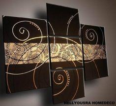 Tableaux design unique Trivia taille xl : Décorations murales par nellyousra-home-deco