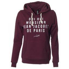 Monsieur Hoodie - Bordeaux