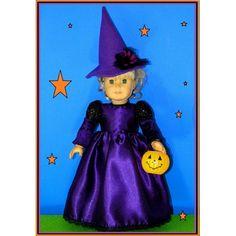 http://alenamokhan.com/                              Halloween Witch American Girl Doll Costume