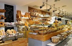 crusto The best bakery in Barcelona best place for Breakfast Bakery Interior, Restaurant Interior Design, Bakery Design, Food Design, Deli Counter, Community Coffee, Bakery Display, Best Bakery, Food Stall
