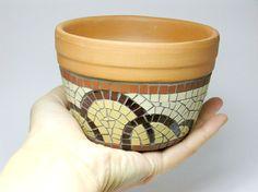 mosaic pot