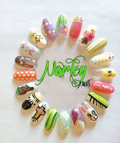 Fun Easter Nails
