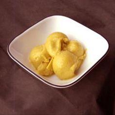 Mango Coconut Ice Cream (Vegan) Recipe