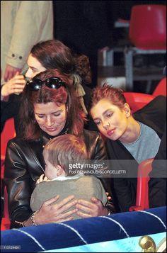 The 4th day of Monaco Circus Festival in Monaco City, Monaco on January 21, 2001 - Caroline, Charlotte and Alexandra.