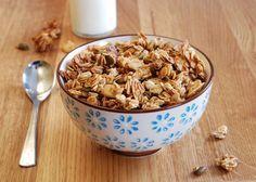 Pauline à la crème anglaise: Mon granola qui croque et qui ne reste pas sur les...