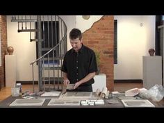 Pottery Video: Adding Depth to Tiles Using Underglaze - YouTube