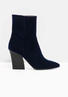 & Other Stories | Velvet Boots