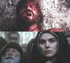 Pictures/Photos of the Passion of the Christ Movie, Jesus Pictures, Photos and Stills Jesus Our Savior, Christ The Redeemer, Jesus Is Lord, Jesus Christ, Jesus Resurrection, Mother Son Love, Blessed Mother, Mother Mary, Passion Of Christ Images