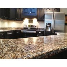 Light Quartz Countertop With Dark Cabinets Kitchens