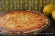 Lemon Sponge Pie- hope this is like the recipe mom used to make.