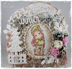 Donna's Card Emporium: Tilda With Lace Hood And A new Challenge At LHOSM