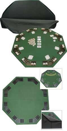 10 player poker table folding texas holdem blackjack casino cup card tables and tabletops 166572 48 x48 portable octagon poker card blackjack table top case watchthetrailerfo