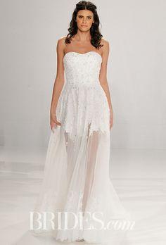 Brides.com: . Wedding dress by Tony Ward for Kleinfeld