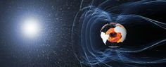 New study shows how rapidly Earth's magnetic field is changing - ScienceAlert Van Allen Radiation Belt, Outer Core, Earth's Magnetic Field, Polo Norte, Electromagnetic Field, Universe Today, New Image, Spacecraft, Planet Earth