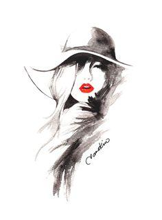 Fashion Illustration by Jane Kim #fashion #fashionIllustration #fashionDrawing