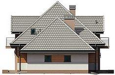 Projekt domu Śnieżka N 129,49 m2 - koszt budowy 220 tys. zł - EXTRADOM House Plans, Houses, Cabin, House Styles, Home Decor, Home Plans, Homes, Decoration Home, Room Decor