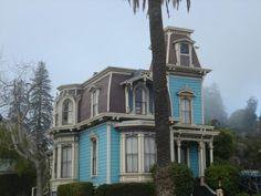 "cosmicquestor48: "" Victorian house off of Mission Street, Santa Cruz, CA """