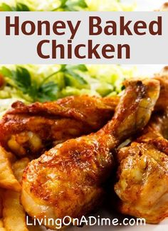 Honey-Baked Chicken Recipe - SUPER easy with just 5 ingredients and 5 minutes prep time!