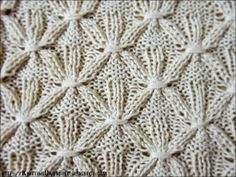 Knit-Purl Combinations: Pattern 7 - Smocking Stitch