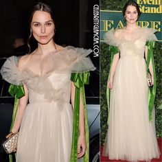 "913 Likes, 3 Comments - Celebrityglamcam (@celebrityglamcam) on Instagram: ""Keira Knightley wearing Valentino at the London Evening Standard Theater Awards. #keiraknightley…"""