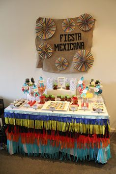 The Inspired Occasion: Client Styling - Fiesta Mexicana Theme