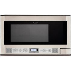 Sharp 1.5 Cu. Ft. 1100W Over-the-Counter Microwave