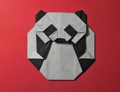PANDA BADGE by Origami Roman
