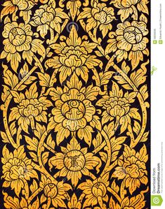 Thai Style Art Of Pattern On The Door In Temple Thailand. Textu Stock Image  sc 1 st  Pinterest : thai door 40 - pezcame.com