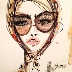 Blair Breitenstein fashion sketch