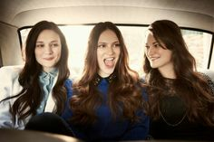 The Staves, the best trio of sisters around. Jessica, Camilla and Emily Staveley-Taylor