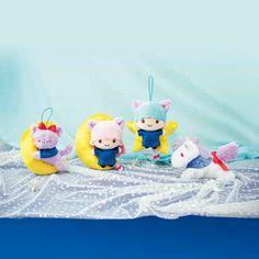 【2015.09】★Plush Dolls ★14cm ★ #SanrioLicenseJapan FuRyu ★ #LittleTwinStars