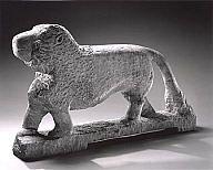 William Edmondson (Nashville, Tennessee, 1882-1951) Lion ca 1937 Collections Search | Milwaukee Art Museum