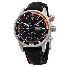 Maurice Lacroix Men's PT6028-ALB31-331 'Pontos Extreme' Dial Strap Chrono Swiss Automatic Watch