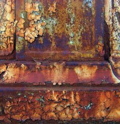 Urban Decay- Rust and Peeling Paint Urban Decay Photography, Abstract Photography, Grunge Photography, Newborn Photography, Photography Poses, Decay Art, Rust Never Sleeps, Growth And Decay, Rust In Peace