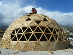Geodesic Dome Connectors To Build Your Own Out Of Wood