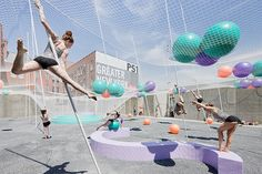 A Dancing, Shifting Architecture Installation Opens in Queens