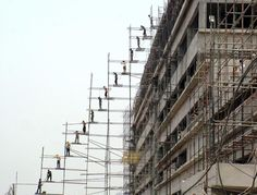 Seguridad laboral en Bhubaneswar, India