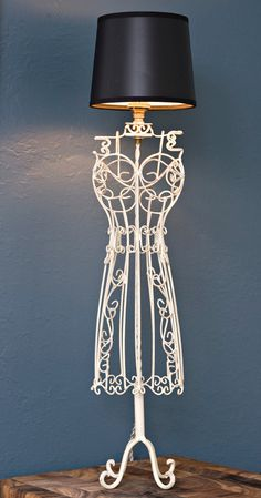 Dress form lamp