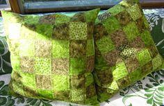 """Tilkkureppu: """"Luontopolku"""" tyynynpäälliset"""