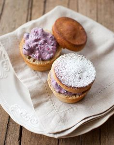 Scandi Home: Shrove Tuesday buns with almond butter and berry ricotta