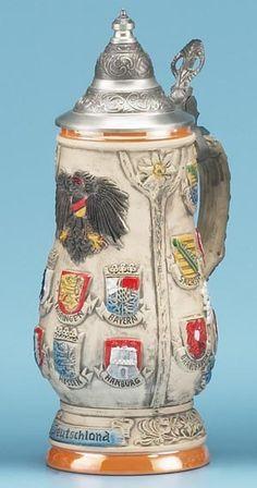DEUTSCHLAND STEIN - Authentic Beer Steins from Germany - 1001BeerSteins.com