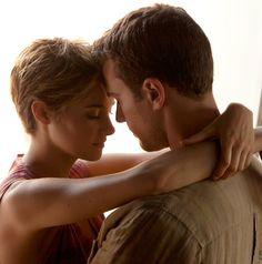 Theo James & Shailene Woodley as Four & Tris Tris E Tobias, Divergent Four, Divergent Hunger Games, Divergent Fandom, Divergent Trilogy, Theo James, Theo Theo, Shailene Woodley, Tris Und Four