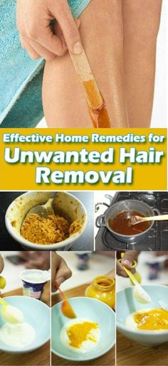 Remove Unwanted Hair Permanently At Home !!!