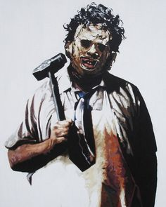 The Texas Chain Saw Massacre Horror Posters, Horror Icons, Horror Art, Scary Movies, Horror Movies, Michael Myers And Jason, Horror Movie Tattoos, Texas Chainsaw Massacre, Horror Pictures