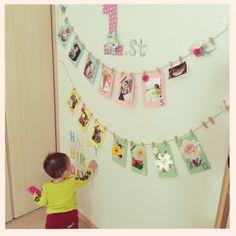 わが子の誕生日を全力で祝いたい!お部屋の飾り付け実例♪ | RoomClip mag | 暮らしとインテリアのwebマガジン