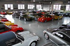Got Porsche? Porsche Panamera, Porsche Motorsport, Cool Garages, Custom Garages, Dream Garage, Car Garage, Garage Pictures, Strange Cars, Luxury Private Jets