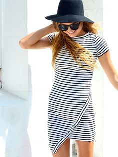 Cool stripe dress. Click on the picture to get it!