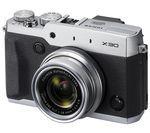 FUJIFILM X30 High Performance Compact Camera - Silver